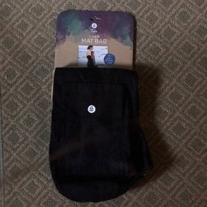 Black Tula Athletica Yoga Mat Bag